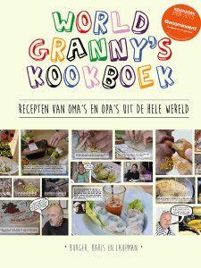 Worldgranny's kookboek, genomineerd voor kookboek van het jaar.